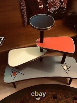 1950s Indoor Plant Stand Table Shelf Mid-Century Modern Vintage
