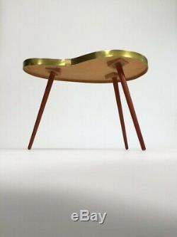 1950s coffee table kidney shaped mid century vintage original sunburst