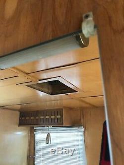 1957 SPARTAN Imperial Villa 45x10 MID-CENTURY mobile HOME camper VINTAGE trailer