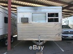 1957 SPARTAN Imperial Villa 45x10 MID-CENTURY mobile home VINTAGE camper trailer