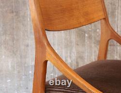 1(4) Vintage 60er Teak Stuhl Vestervig Eriksen Danish Mid-Century 60s Chair 50s