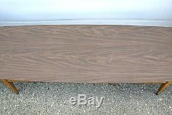 3-Pc SET Vtg Lane Mid Century Danish Modern Wood Coffee End Table Laminate Top