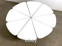 42 Vintage Mid Century Modern Richard Schultz Petal Coffee Table Knoll White