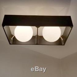 505 70s 80s Vintage Ceiling Light Lamp atomic midcentury eames retro sconce