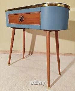50er 60er Mid Century Vintage Sideboard Flur Konsole Kommode Rockabilly Design