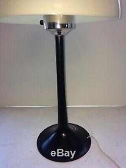 60's Vintage Mid Century Modern plastic Mushroom Table Lamp
