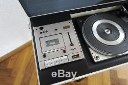 60er 70er Mid Century Rosita KL 2000 Design Plattenspieler Radio Vintage Colani