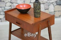 60er TEAK TISCH COUCHTISCH BEISTELLTISCH MID CENTURY DANISH 60s TABLE VINTAGE