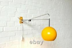 60s70s Wandlampe Lampe SCONCE COSACK Lamp Space Age Design Mid Century Vintage