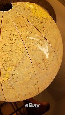 Adrian Pearsall Mid Century Modern Vintage Atomic World Globe (Craft Associates)
