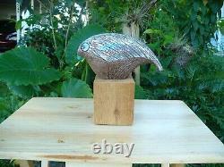 Aldo Londi Bitossi Vintage Mid Century Modern Raymor Pottery Bird