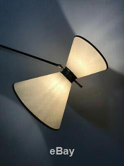 Applique lampe sconce 1950s light vintage deco 50 french arlus lunel mid century