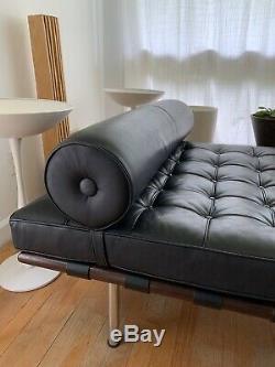 Barcelona Daybed Mies Van Der Rohe Sofa Mid Century Modern Knoll Design Vintage