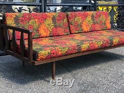 Beautiful vintage Mid century Modern Language chair sofa