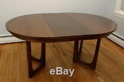 Broyhill Emphasis Dining Table Chairs Set Mid Century Modern Vintage Brasilia