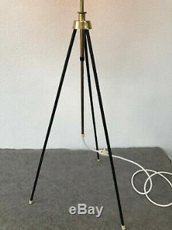 Cocoon Stehlampe 50er Mid Century Vintage Lampe Bubble Tripod Stilnovo Ära