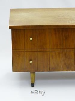 Cool Swanky Vintage Mid-century Modern Cedar Chest / Trunk By Lane