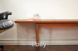 Gorgeous Vintage Drexel Declaration Mid-century Modern Walnut Bench/coffee Table