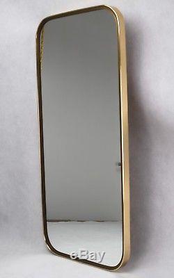 Großer MID CENTURY Wandspiegel Vintage Spiegel 50er Jahre Mirror