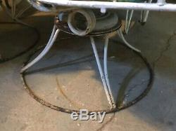 Homecrest vintage patio set midcentury glider chair cushions