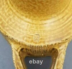 Ikebana Vase Toyo Mid Century Modern Japan Modernist Japanese MCM Pottery Vtg