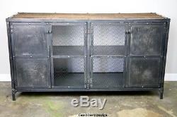 Industrial Buffet/Sideboard. Mid Century Modern/Vintage Style. Reclaimed Wood