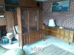 Kent Coffey Vintage Broyhill Brasilia China Hutch Buffet Credenza MID Century Nj