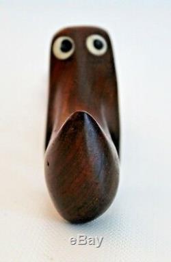 Knud Albert Denmark Vtg Mid Century Danish Modern Rosewood Sculpture Toy Bojesen