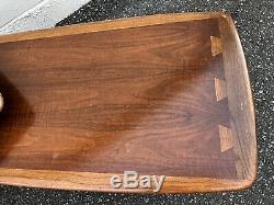 LANE ACCLAIM Switchblade Coffee Table Mid Century Modern Vintage MCM Walnut Inla
