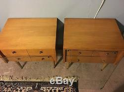 MID Century Vintage Nightstand/end Tables Furnishings Of Character- Lammerts
