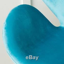 Manhattan Mid Century Modern Design Swivel Swan Accent Chair