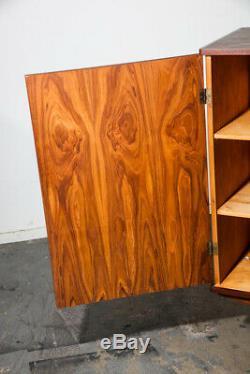 Mid Century Danish Modern Cabinet Credenza Teak Simple Minimalist Vintage Wood