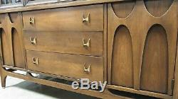 Mid Century Modern Credenza buffet Broyhill Brasilia Vintage with hutch