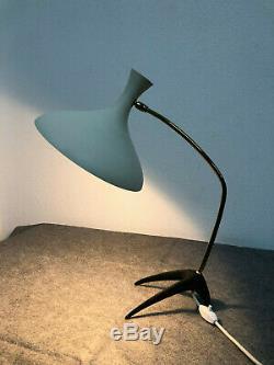 Mid Century Tischlampe Arteluce Kalff Ära Krähenfuß 50er Vintage Lampe Stilnovo