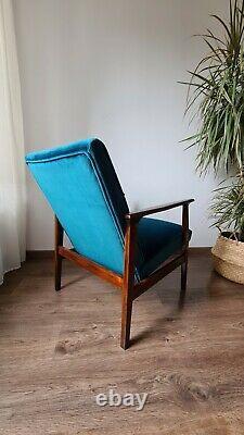 Mid Century Vintage Danish Style Armchair 1960s-70s
