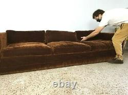 Milo Baughman for Thayer Coggin Sectional Mid Century Modern Couch Sofa Vintage