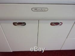 Morton vintage metal steel kitchen cabinets 1950s Mid Century