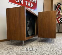 PAIR Vintage JBL C37 C-37 Speakers HI-FI N1200 2225H 2425J Mid Century CLEAN