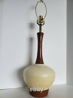 Pair Vtg Mid Century Modern Futurama Genie Table Lamps 29