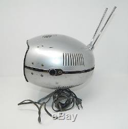 Panasonic Orbitel TR-005 UFO Transistor TV Vintage Mid Century Eyeball R19475