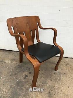 Peter Danko Bentwood Chair Mid Century Modern Vintage