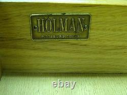 RARE 50's DANISH DESIGN MID CENTURY HOLMAN WALNUT HUTCH BUFFET CABINET CREDENZA