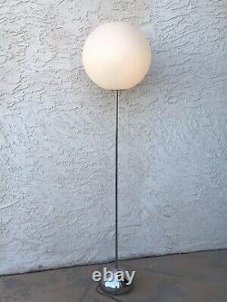 Robert Sonneman Vintage MID Century Modern Globe Lollipop Floor Lamp