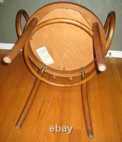 Set of 4 Mid-Century Vtg Thonet Bentwood Armchairs/Dining Chairs Le Corbusier