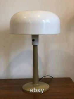 THURSTON LIGHTOLIER MUSHROOM LAMP VINTAGE MID CENTURY MODERN Basic Concept
