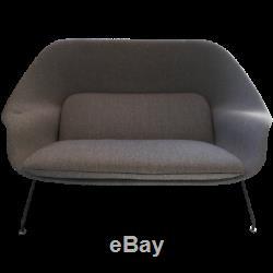 VINTAGE 1960s EERO SAARINEN WOMB SETTEE BY KNOLL, Mid Century Modern Chair MCM
