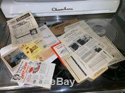 VINTAGE RETRO Mid Century Modern 1950's CHAMBERS GAS OVEN STOVE one owner only