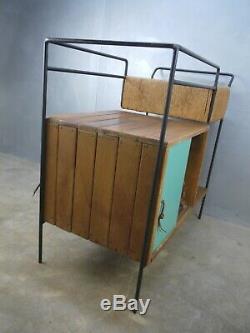VTG Mid Century Modern Authentic RARE Arthur Umanoff BAR Cart RAYMOR Rush SERVER