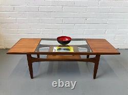 Vintage 60's G Plan Fresco Teak Coffee Table. Astro Danish Retro Mid Century