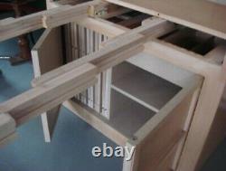 Vintage 60s Expandomatic Table Saginaw Mid-Century Modern Danish Style